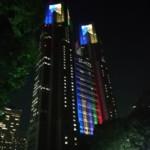 新宿中央公園の「水と緑のEvening Bar」に参戦